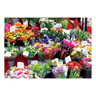 Lafayette Puzzle Factory Colorluxe 1500 - ColorfulMarket Flowers: 1500 Pcs