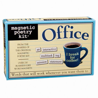 Magnetic Poetry Magnetic Poetry Kit: Office