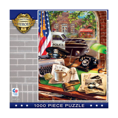 Masterpieces Puzzles Hometown Heroes - Local Law:1000 Pcs