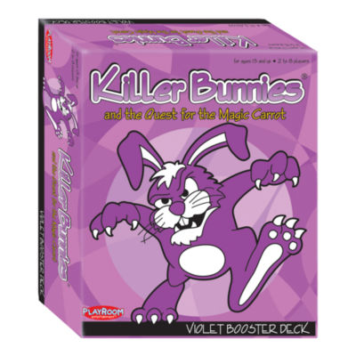Playroom Entertainment Killer Bunnies and the Quest for the Magic Carrot: Violet Booster Deck (4)