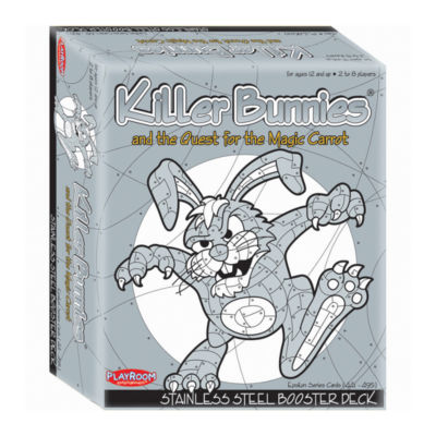 Playroom Entertainment Killer Bunnies and the Quest for the Magic Carrot: Stainless Steel Booster Deck (8)