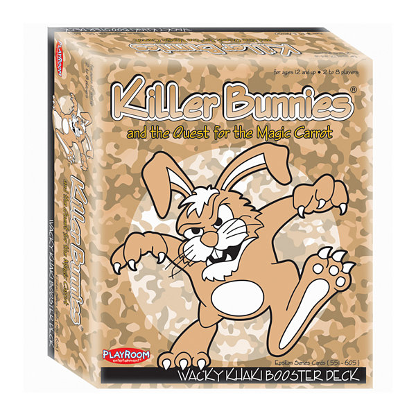 Playroom Entertainment Killer Bunnies and the Quest for the Magic Carrot: Wacky Khaki Booster Deck (10)