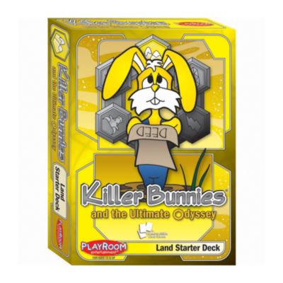 Playroom Entertainment Killer Bunnies Odyssey LandStarter Deck
