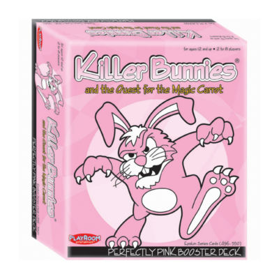 Playroom Entertainment Killer Bunnies and the Quest for the Magic Carrot: Perfectly Pink Booster Deck (9)