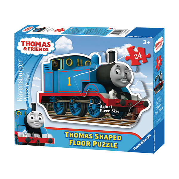 Ravensburger Thomas & Friends - Thomas Shaped Floor Puzzle: 24 Pcs