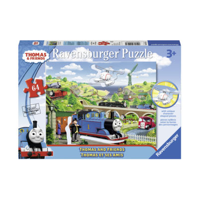 Ravensburger Thomas & Friends Puzzle with Character Shaped Pieces: 64 Pcs