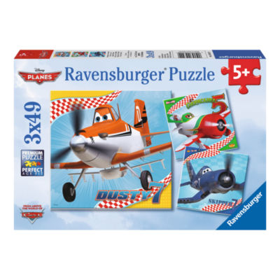 Ravensburger Disney Planes - Dusty and Friends: 3x49 Pcs
