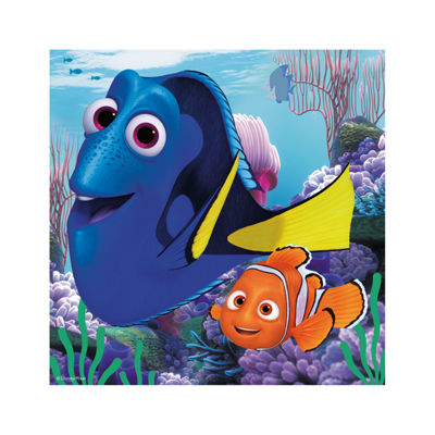 Ravensburger Finding Dory 3-in-1 Jigsaw Puzzle Multi-Pack - Finding Dory: 3 x 49 Pcs