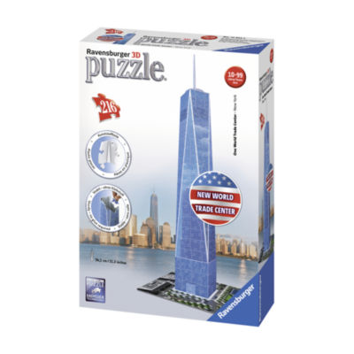 Ravensburger One World Trade Center New York 3D Puzzle: 216 Pcs