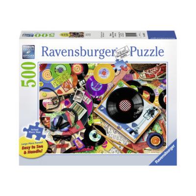 Ravensburger Viva le Vinyl Large Piece Format: 500Pcs