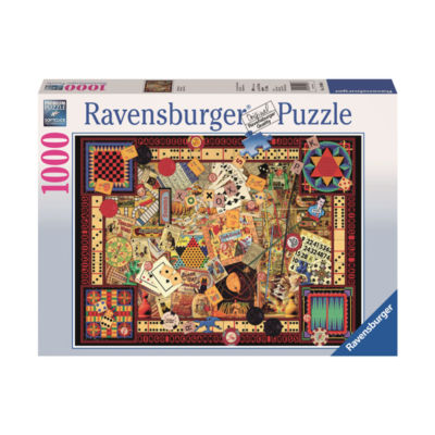 Ravensburger Vintage Games: 1000 Pcs