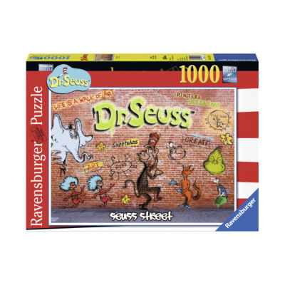 Ravensburger Dr. Seuss - Seuss Street: 1000 Pcs