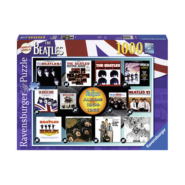 Ravensburger The Beatles - Albums 1964-66: 1000 Pcs