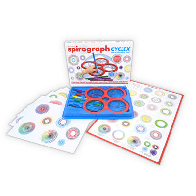 Spirograph Spirograph Cyclex Spiral Drawing Tool