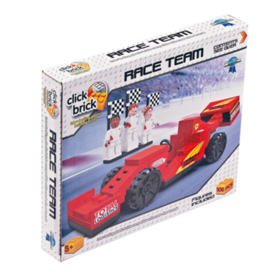 Talicor Click Brick - Race Team: 108 Pcs