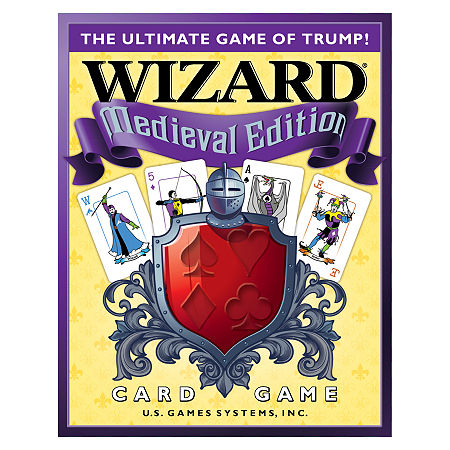 U.S. Games Systems Wizard Medieval Edition, One Size , Multiple Colors