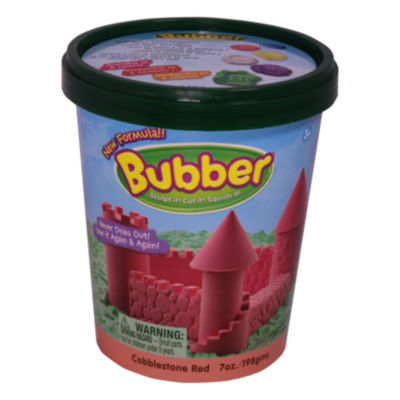 WABA Fun Bubber Bucket - 7 oz: Red