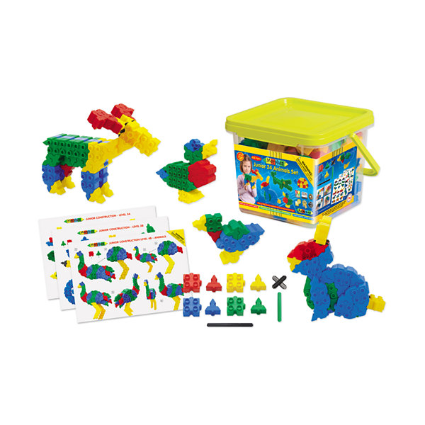 WABA Fun Morphun Junior 24 Animals Set: 252 Pcs