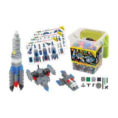 WABA Fun Morphun Junior Xtra Spaceships Set: 334 Pcs