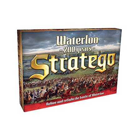 Play Monster Stratego Waterloo Board Game, One Size , Multiple Colors