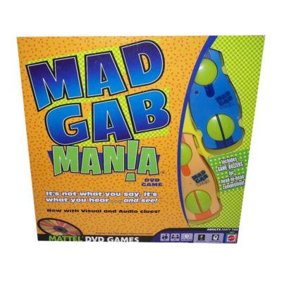 Mattel Mad Gab Mania DVD Game