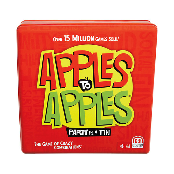 Mattel Apples to Apples Party Tin