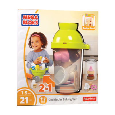 Mega Bloks Fisher-Price Cookie Jar Baking Set: 21Pcs
