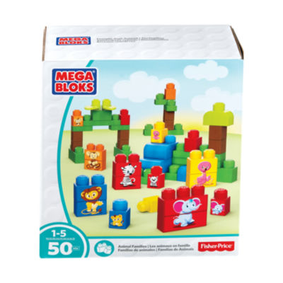 Mega Bloks Fisher-Price Animal Families: 50 Pcs