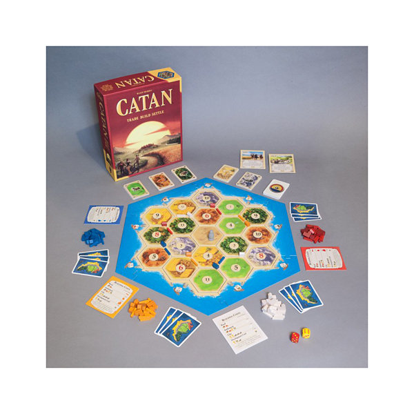 Mayfair Games Settlers of Catan Board Game: 5th Edition