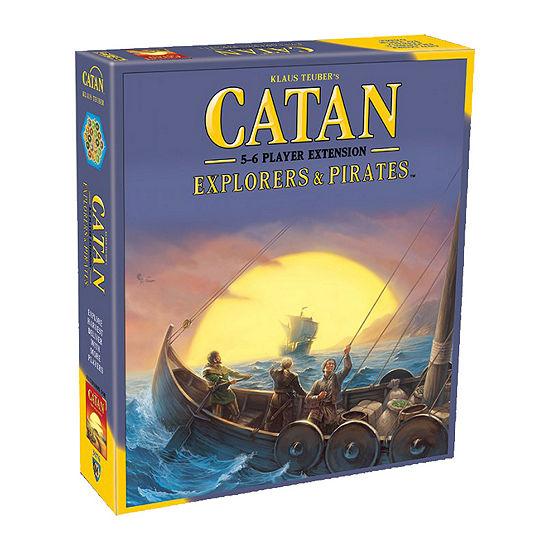 Mayfair Games Catan Explorers Pirates 5 6 Player Extension