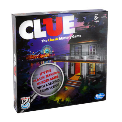 Hasbro Clue - The Classic Mystery Game