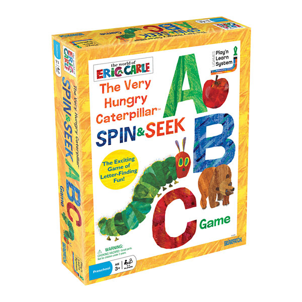 Briarpatch The Very Hungry Caterpillar Spin & SeekABC Game