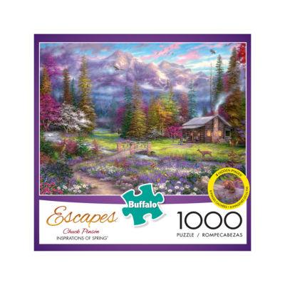Buffalo Games Chuck Pinson Escapes - Inspirationsof Spring: 1000 Pcs