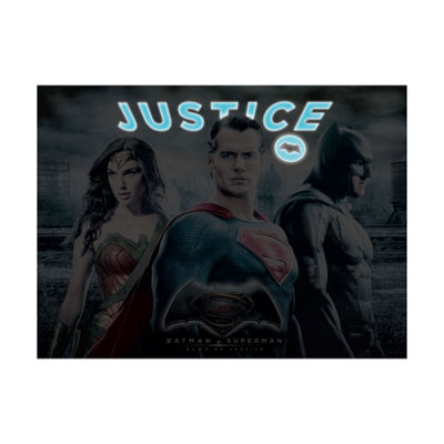 Buffalo Games Dawn of Justice Glow-in-the-Dark Jigsaw Puzzle: 1000 Pcs