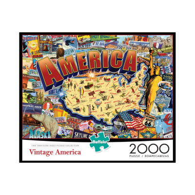 Buffalo Games Vintage America: 2000 Pcs