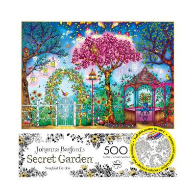 Buffalo Games Johanna Basford's Secret Garden - Songbird Garden: 500 Pcs