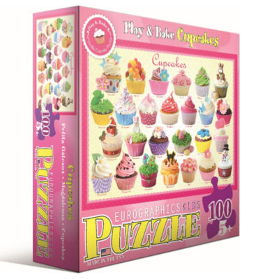 Eurographics Inc Play & Bake Cupcakes: 100 Pcs
