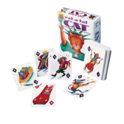 Gamewright Rat-a-Tat Cat Numbers Card Game