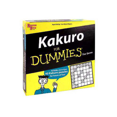 University Games Kakuro for Dummies