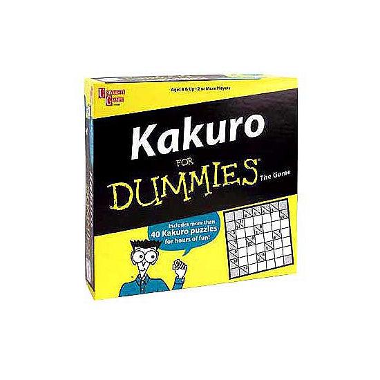 University Games Kakuro for Dummies