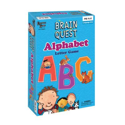 University Games Brain Quest - Alphabet Letter Game