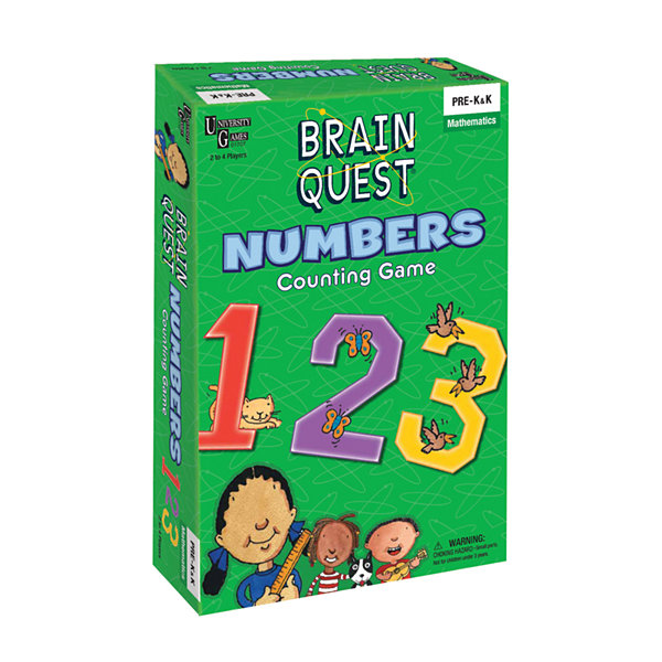 University Games Brain Quest - Numbers Counting Game
