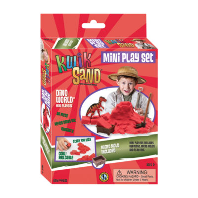 Be Good Company KwikSand Mini Play Set - Dino World