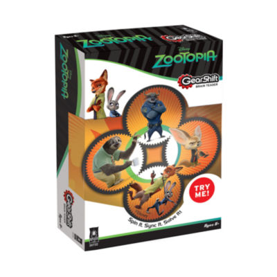 BePuzzled GearShift Brain Teaser - Disney Zootopia