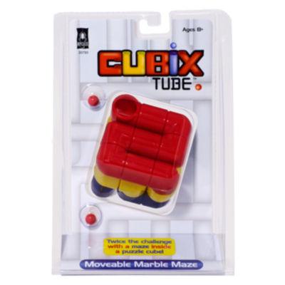 BePuzzled Cubix Tube Brain Teaser