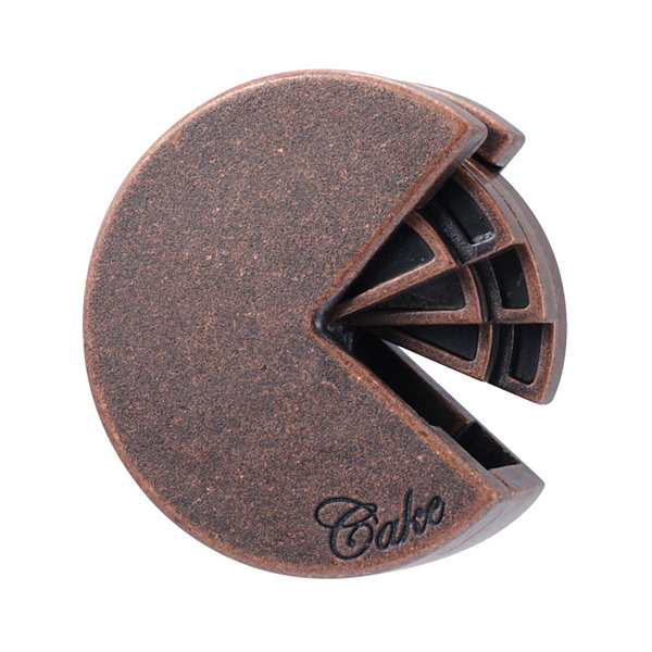 BePuzzled Hanayama Level 4 Cast Puzzle - Cake