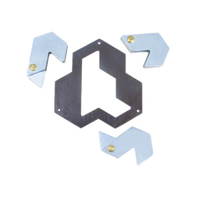 BePuzzled Hanayama Level 4 Cast Puzzle - Hexagon