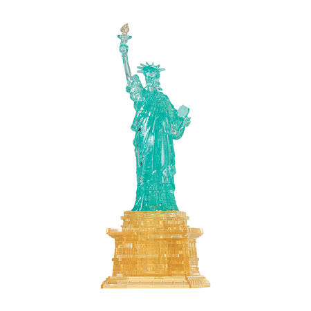 BePuzzled 3D Crystal Puzzle - Statue of Liberty: 69 Pcs, One Size , Multiple Colors
