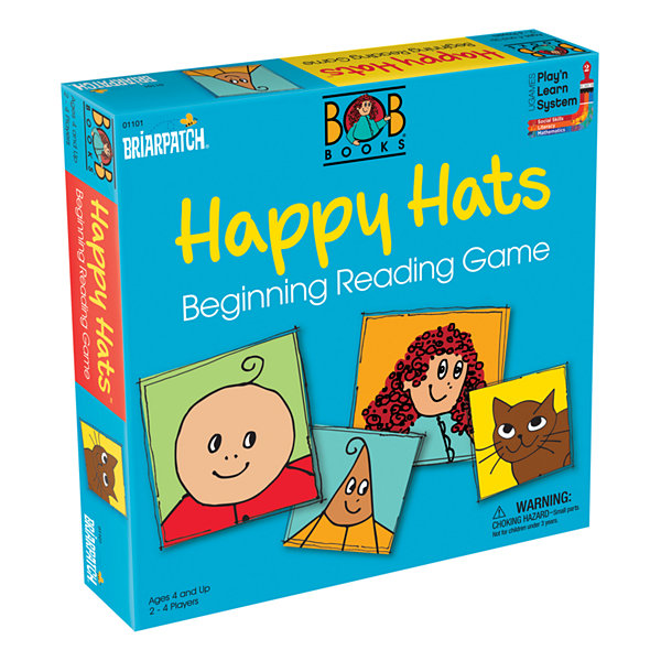 Briarpatch BOB Books Happy Hats Beginning ReadingGame