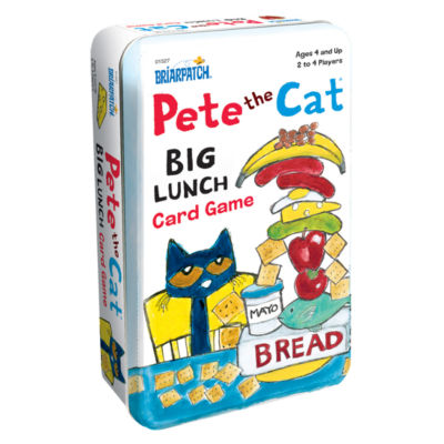 Briarpatch Pete the Cat Big Lunch Card Game Tin